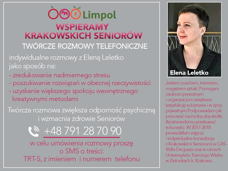 Limpol wspiera Krakowskich Seniorów