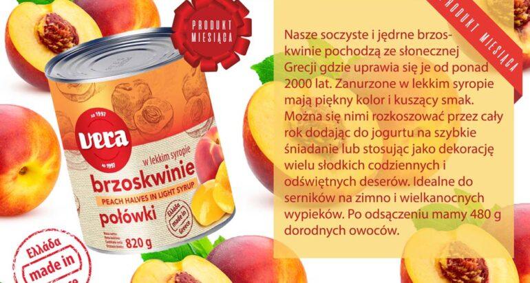 Produkt miesiąca marca – brzoskwinie